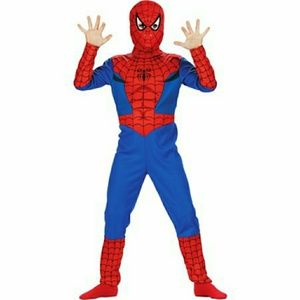 Spiderman costume with hood